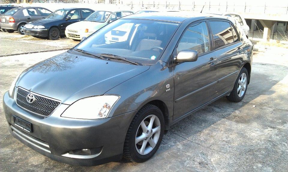 Toyota corolla Linea Sole