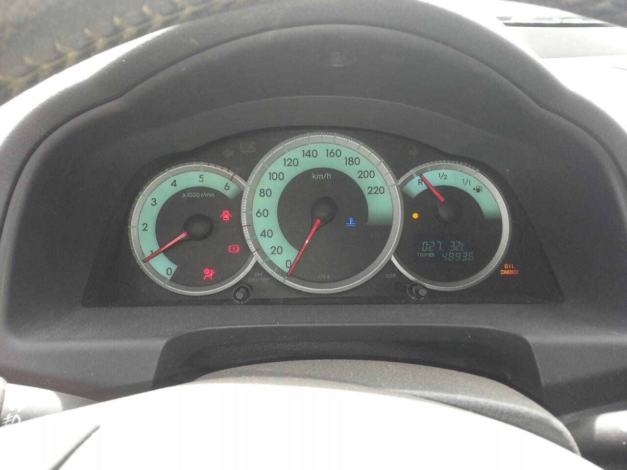 Toyota corolla Verso. Navigation